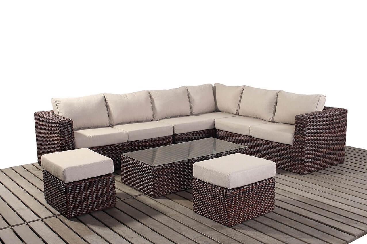 Windsor Large corner right garden furniture suite
