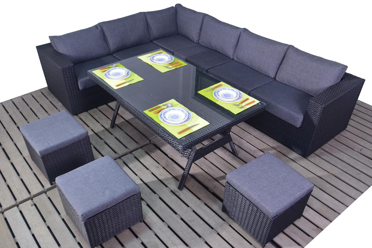Prestige Table corner left garden furniture suite