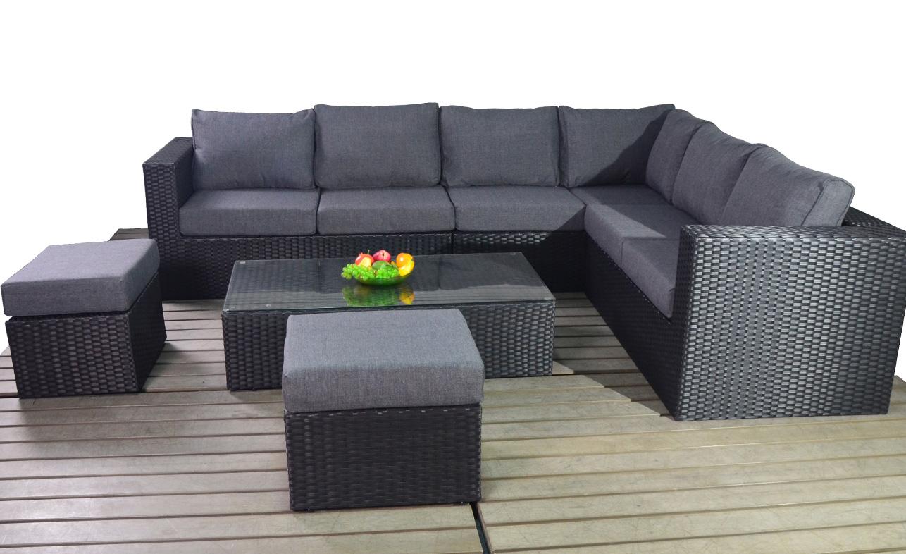 Prestige Large corner right garden furniture suite