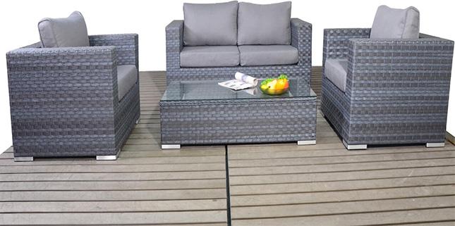 Platinum Small sofa set garden furniture suite