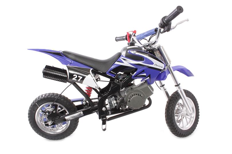 Hawkmoto Dirt Devil Pocket Rocket Scrambler 49cc in Blue