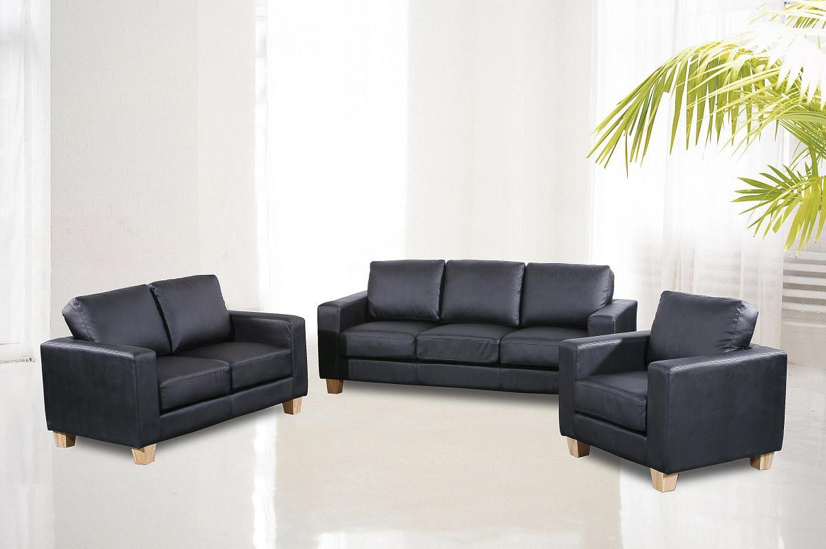 Chesterfield 3 Seater Sofa PU