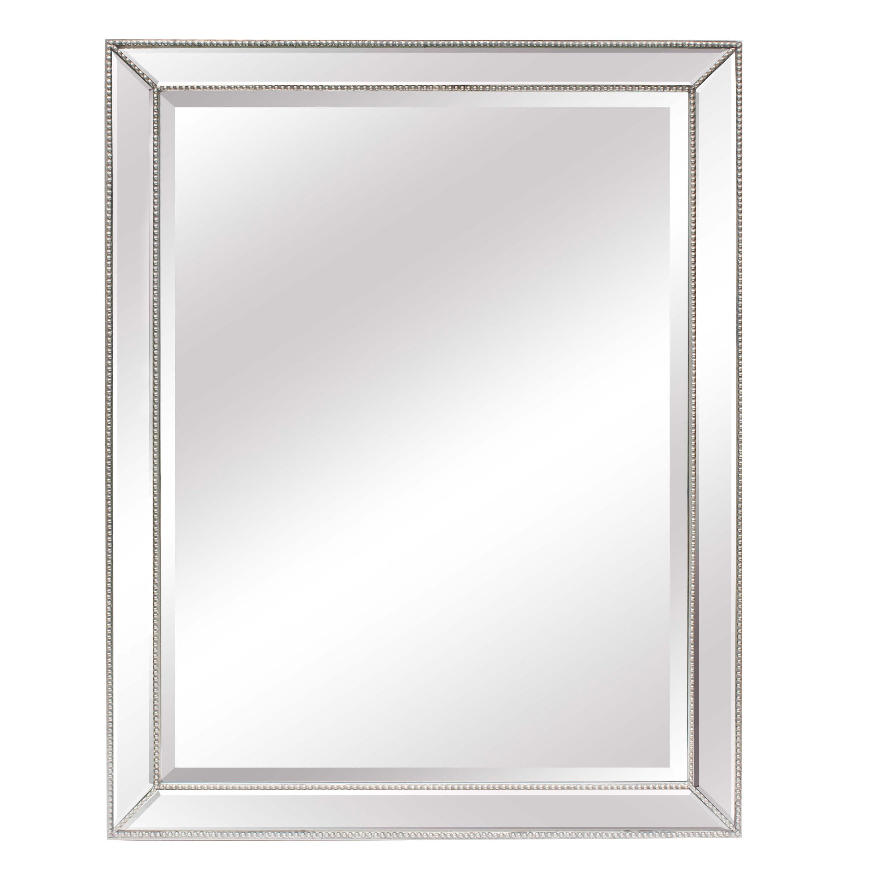 Chanpagne Silver Cushioned Venetian Mirror