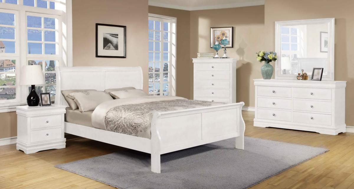 Horizon 5 Pc Bedroom Set White