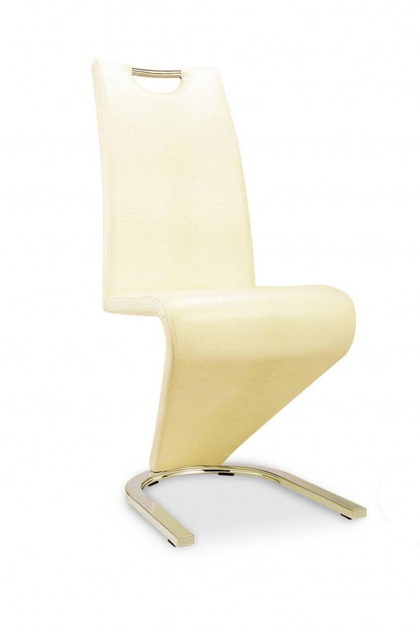Kingsway Dining Chair Vintage PU Cream
