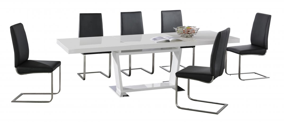 Maxwell PU Chairs Stainless Steel