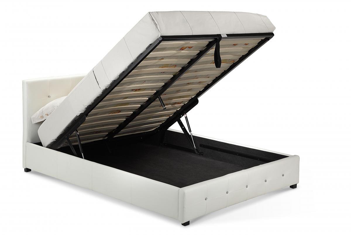 Quartz Storage PU King Size Bed