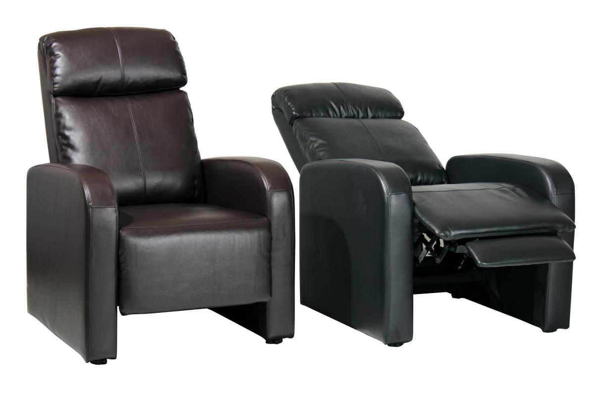 Sian Recliner Bonded PU 1 Seater