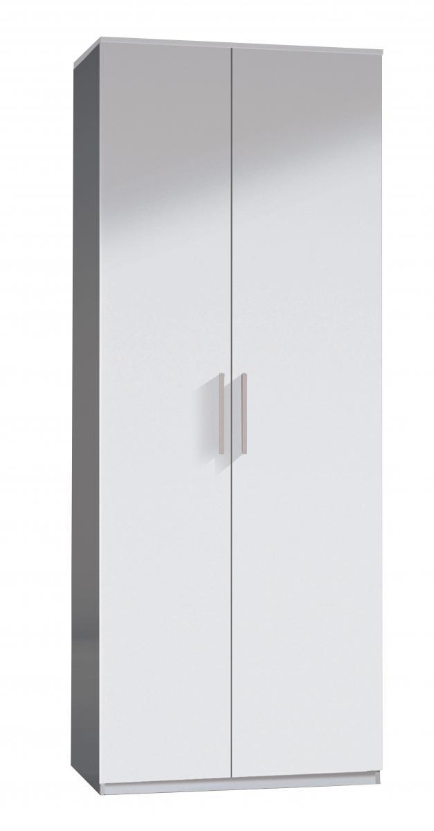 Arctic Wardrobe 2 Door High Shine White