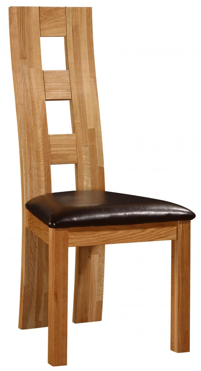 Weston Chair Solid Oak Natural